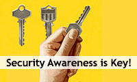 Security Awareness is Key!