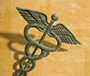 Photo of a caduceus