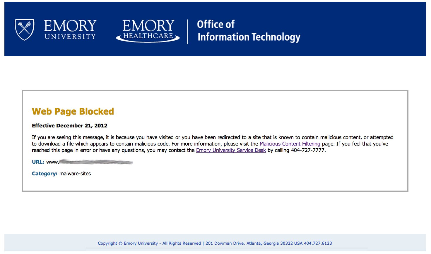 Emory LITS: Information Technology